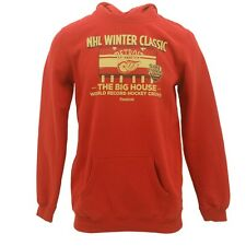 Detroit Red Wings Youth Size Reebok NHL Official Sweatshirt Winter Classic New