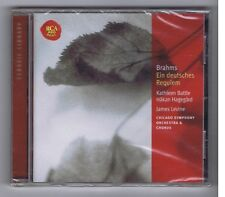 BRAHMS CD (NEW) UN REQUIEM ALLEMAND (EIN DEUTSCHES REQUIEM) JAMES LEVINE