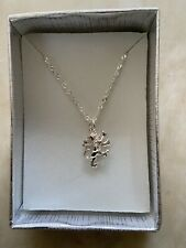 "925 Silver English Lion Pendant 14.5"" /15"" Chain Decorative Jewellery England"