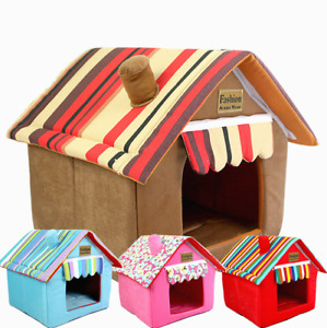 Foldable Dog House, Pet Bed Tent, Cat Kennel, Indoor Portable Travel Puppy Mat