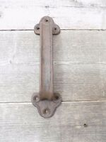 1 Rustic Cast Iron Handles Door Hardware Pull Gate Shed Drawer Cabinet Barn Shed