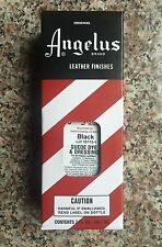 Angelus Brand Black Suede Dye & Dressing with Applicator in 3 Fl. Oz.