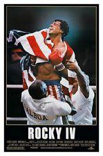 ROCKY IV (1985) ORIGINAL MOVIE POSTER  -  ROLLED