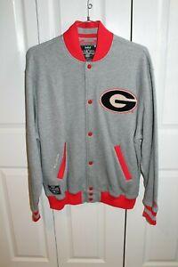 University of Georgia Fleece Jacket  - Mens Large - NEW