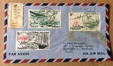 LETTRE envoyée de St Pierre et Miquelon le 14 février 1942 pour Baltimore