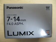 NEW PANASONIC LUMIX G VARIO 7-14mm F4.0 ASPH H-F007014 7-14 mm F/4.0 Lens*Offer