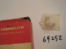 NEW HOMELITE REED VALVE SEAT   P/N 64242 FITS: XL-102, XL-104, XL-113 OR VI-123