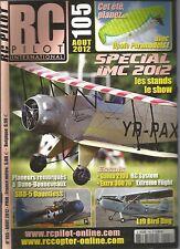 RC PILOT N°105 SPECIAL IMC 2012 / OPALE PARAMODELS / LES PLANEURS REMORQUES