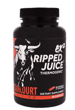 Betancourt Nutrition EX2 RIPPED JUICE Thermogenic EnergySupplement 60 Caps 10/22