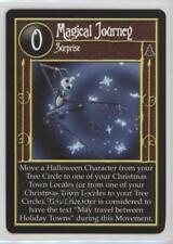 2005 The Nightmare Before Christmas #NoN Magical Journey Gaming Card 2a1