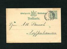Württemberg P34  aus Bissingen 1890   (EB-16)
