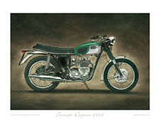 """Triumph Daytona T100T - Limited Edition Collectors Print (of 50 only) 20""""x16"""""""