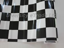 CHECK CHEQUERED VINYL WRAP FILM MATT FINISH FILM CAR WRAPPING RACING GRAPHIC