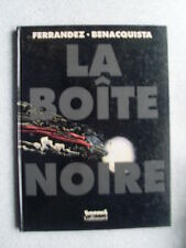 bd Ferrandez Benacquista LA BOITE NOIRE ( eo Futuropolis 2000 ) bel état
