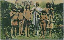 ETHNIC - VINTAGE POSTCARD - PERU: INDIOS - CACHIVOS  MADRE DE DIOS
