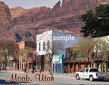 Utah - MOAB - Main St - Travel Souvenir Fridge Magnet
