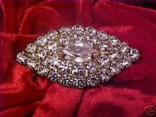 Dazzling Vintage Rhinestone  Pin Brooch  CAT RESCUE