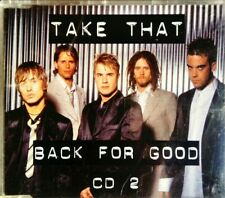 Take That – Back For Good - Four Track CD Single (CD2 of 2) - RCA