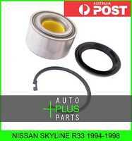 Fits NISSAN SKYLINE R33 1994-1998 - Front Wheel Bearing 38X76X40X43