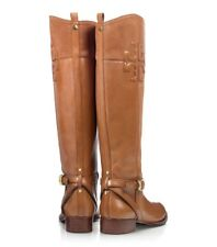 a626cd47b53 Tory Burch Lizzie Riding Boot Leather Suede Size 8.5