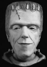HERMAN MUNSTER Fred Gwynne MUNSTERS TV Life Mask Sculpture