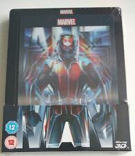 Marvel Ant-Man 2D 3D   Lenticular Limited Steelbook 2-Discs deutsch   NEU NEW