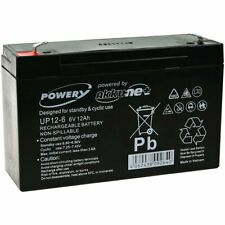 Batterie gel Powery pour vehicle pour enfant, voiture pour enfant, quad pour enf