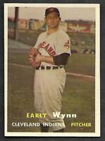 1957 Topps #40 Early Wynn Indians NICE NM/NM+
