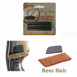 Bear Hair Arrow Rest with Silent Plate Wall Self-adhesive RH or LH
