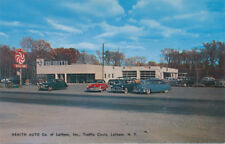 Latham NY * Nemith Auto Co. Used Cars Sales Dealer 1950s * Albany Co.  Mercury