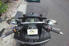 GILERA NEXUS 250/300/500 ANOD.CNC CROSSBAR (for GPS,Cellphone,Camera, Speakers)