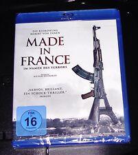 Made In Francia Im Namen Des Terror Blu-Ray más Rápido Envío Nuevo y Emb. Orig.