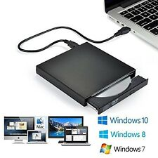 USB 2.0 External CD Drive CD-RW DVD-R Combo Burner For Windows 7 & 2000 XP Vista