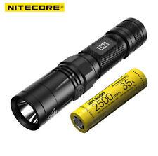 NiteCore EC23 Cree XHP35 HD E2 1800lm 255m LED Flashlight W/ IMR18650 Battery