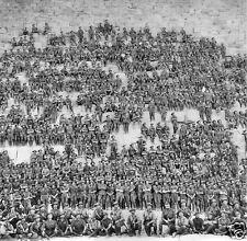 Australian Army 11th Battalion Giza Pyramid 1915 World War 1, 4x4 Inch Photo 2