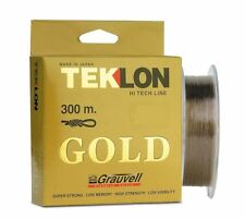 PORT GRATIS 300 m FIL DE PECHE NYLON GRAUVELL TEKLON GOLD diamètre de 30 à 55