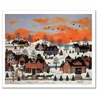 """Jane Wooster Scott """"A Sunset Long Ago"""" Limited Edition Lithograph on Paper"""