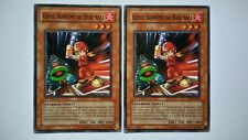 Lot 2 Cartes Yu Gi Oh Gosse Suprême Du Base-Ball SD3-FR009