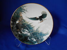 Collector Plate BUILDING FOR A NEW GENERATION 1993 Eagles Gold trim Bradford Ex