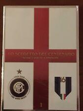 """""""LO SCUDETTO DEL CENTENARIO -  INTER"""" DVD N.1 Nuovo,Sigillato,Editoriale"""
