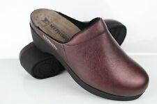 Mephisto Women's Satty Clog Slip On Size 39 U.S. 9 Chianti