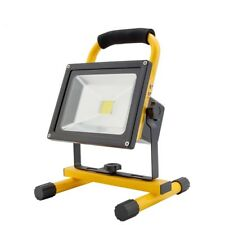 30wPortable LED Hi Power Work Light Lamp Rechargeable Flood Light Camping