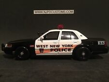 West New York Police Nj 1:24 Scale Ford Crown Victoria Police Car Replica