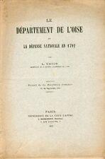 Thiot/Le Département de l'Oise et La Défense Nationale en 1792/1912