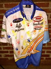 Nhra Mike Ashley Eric Blake Faulkner Crew Jersey Shirt Nitro Ihra Funny Car Rare
