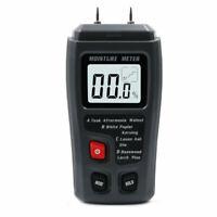 0-99.9% Digital LCD Wood Moisture Meter Humidity Tester Timber Damp Detector vgh