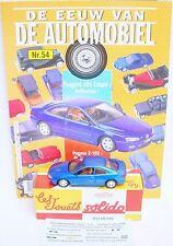 Solido Hachette 1:43 PEUGEOT 406 COUPÉ Model Car + Collectors Magazine #54 MIB!