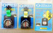 New listing BOGO Cetacea COMPASS MOUNT Scubas/Snorkeling Fluorescent Green or Yellow NIP