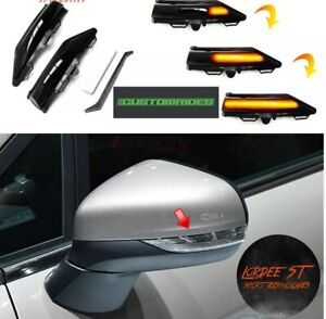 Ford Fiesta MK8 2017 - 2019 + LED Dynamic Side Mirror Indicator Sequential Light