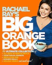 Signed Autographed Rachael Ray's Big Orange Book